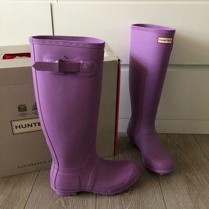 NIB Hunter original tall rainboots